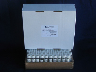 Bulk Pack VOA Vials with Protective Covers